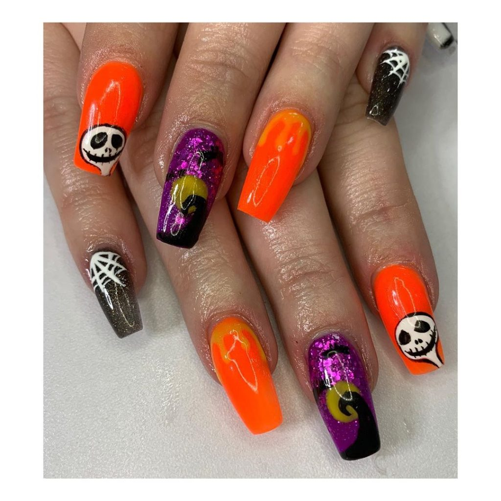100 Easy Halloween Nails Art Ideas For Your Inspirations 92