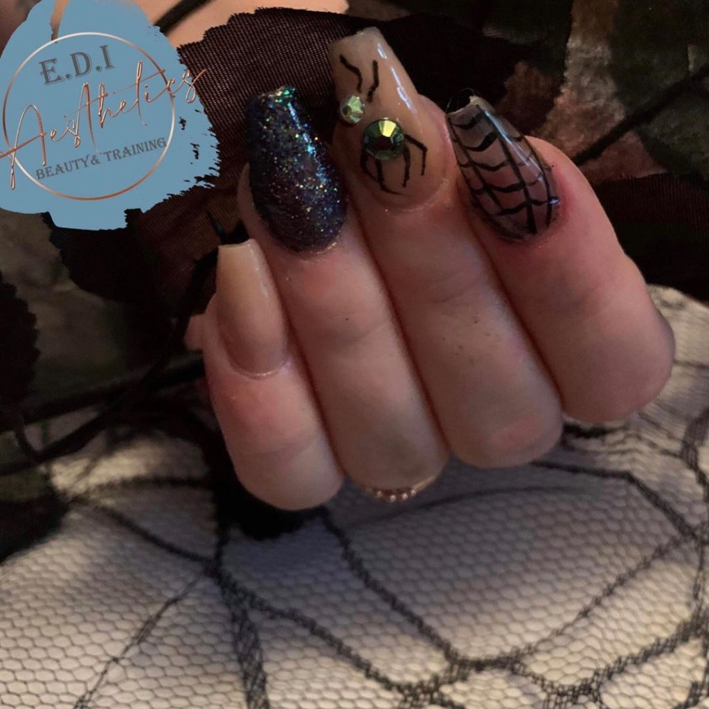 100 Easy Halloween Nails Art Ideas For Your Inspirations 94