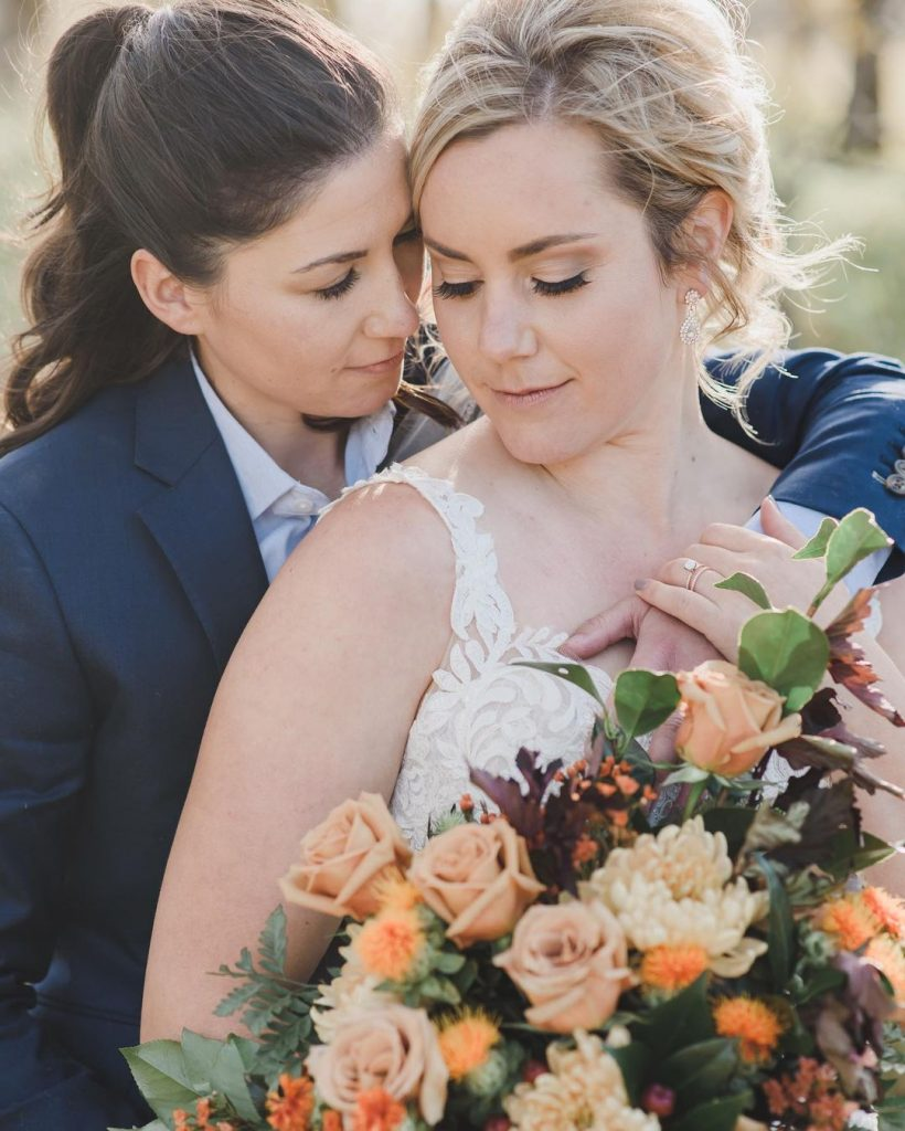 20 Sweet Fall Wedding Photography Ideas For Your Memorable Moments 5