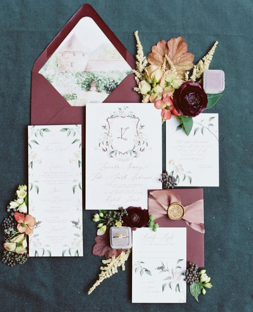 40 Stunning Fall Wedding Inspirations Ideas 5