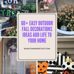 60+ Easy Outdoor Fall Decorations Ideas Add Life to Your Home