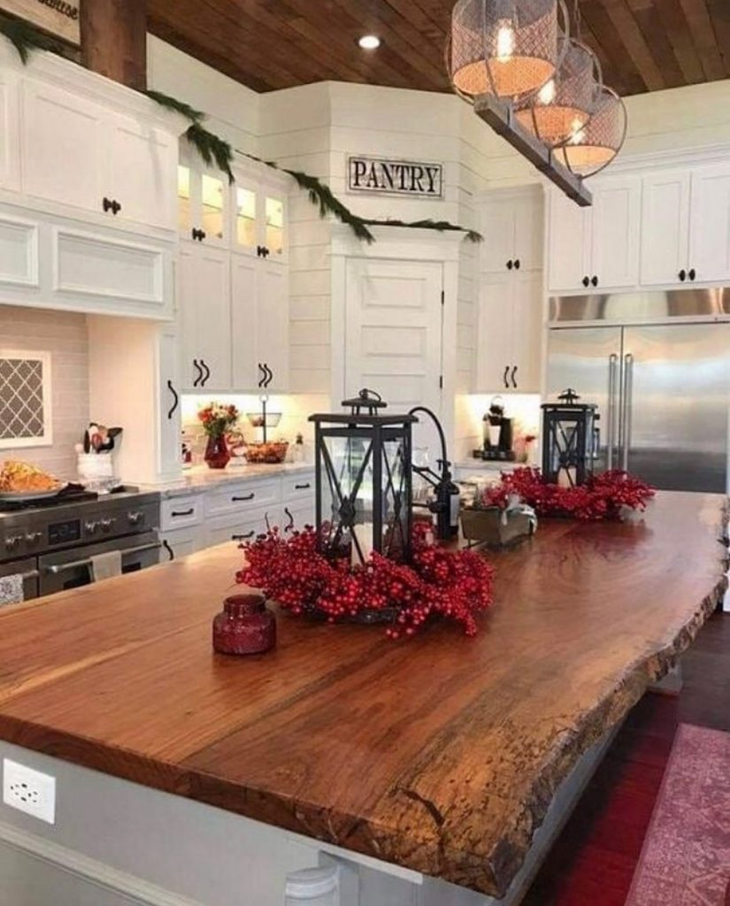 60 Timeless And Classics Country Farmhouse Kitchen Design Ideas 1