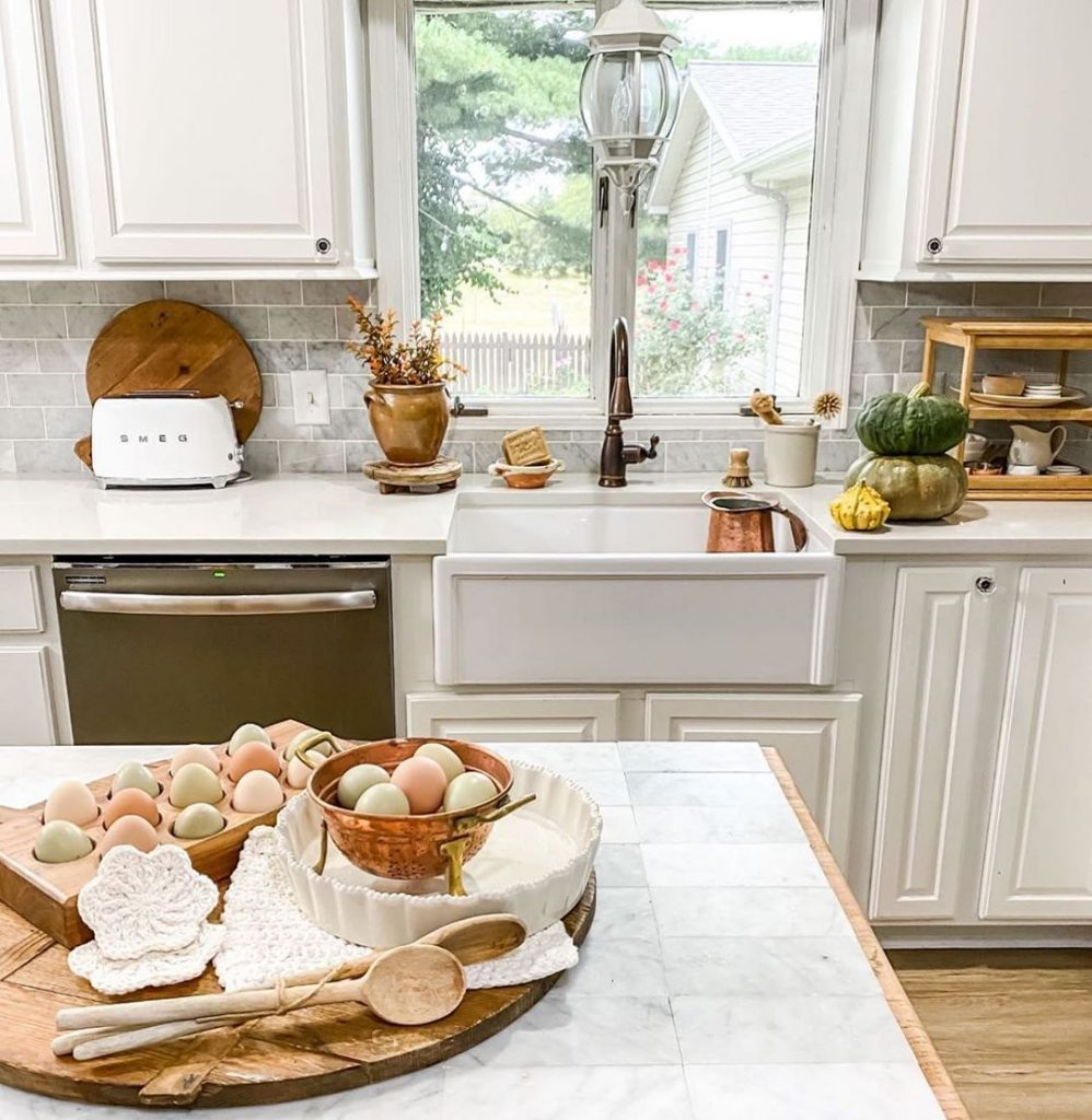 60 Timeless And Classics Country Farmhouse Kitchen Design Ideas 15