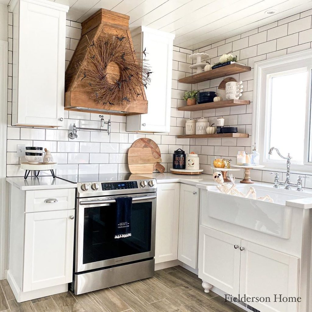 60 Timeless And Classics Country Farmhouse Kitchen Design Ideas 16