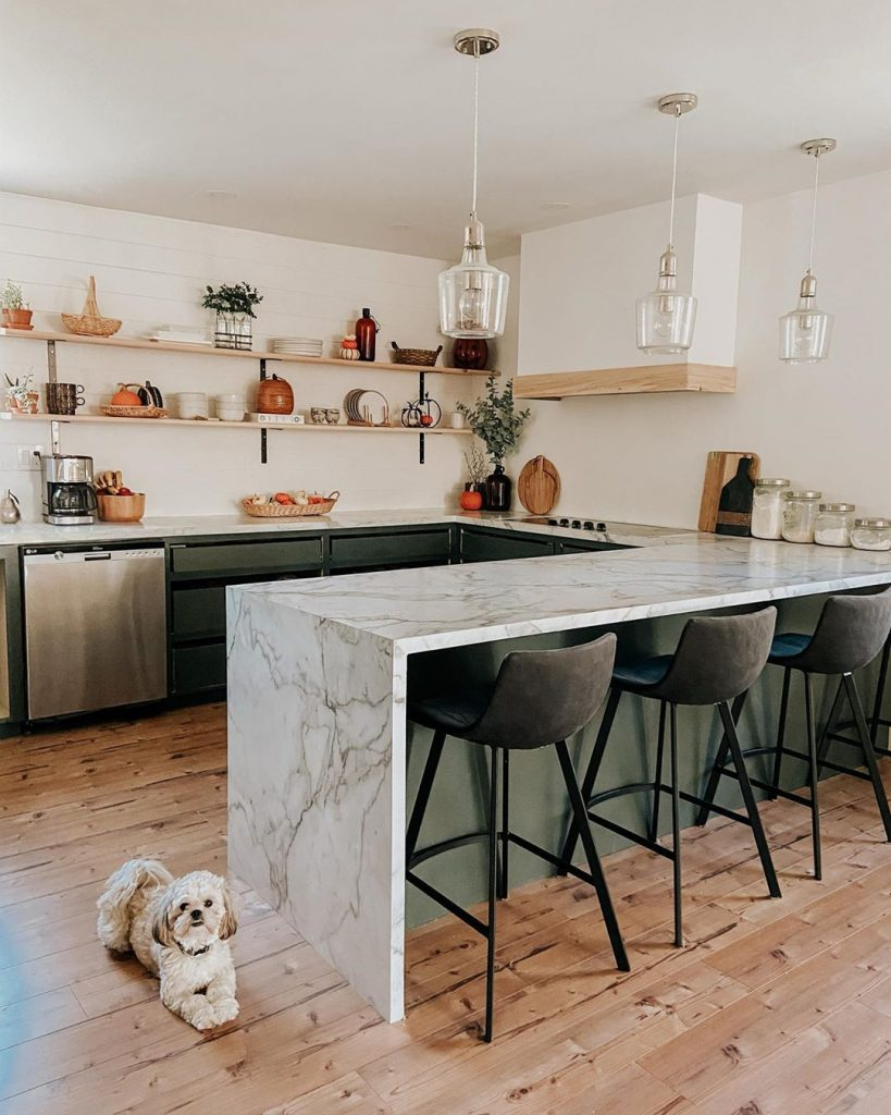 60 Timeless And Classics Country Farmhouse Kitchen Design Ideas 24