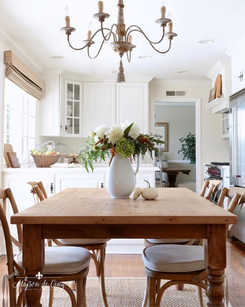 60 Timeless And Classics Country Farmhouse Kitchen Design Ideas 33