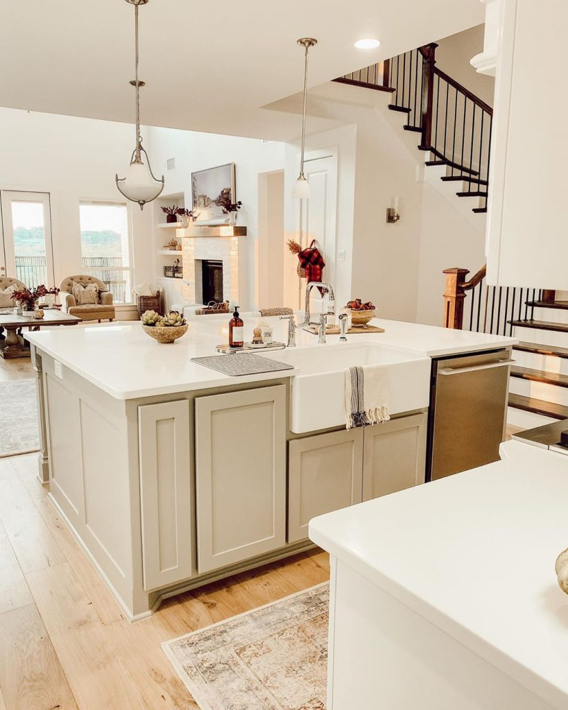 60 Timeless And Classics Country Farmhouse Kitchen Design Ideas 34