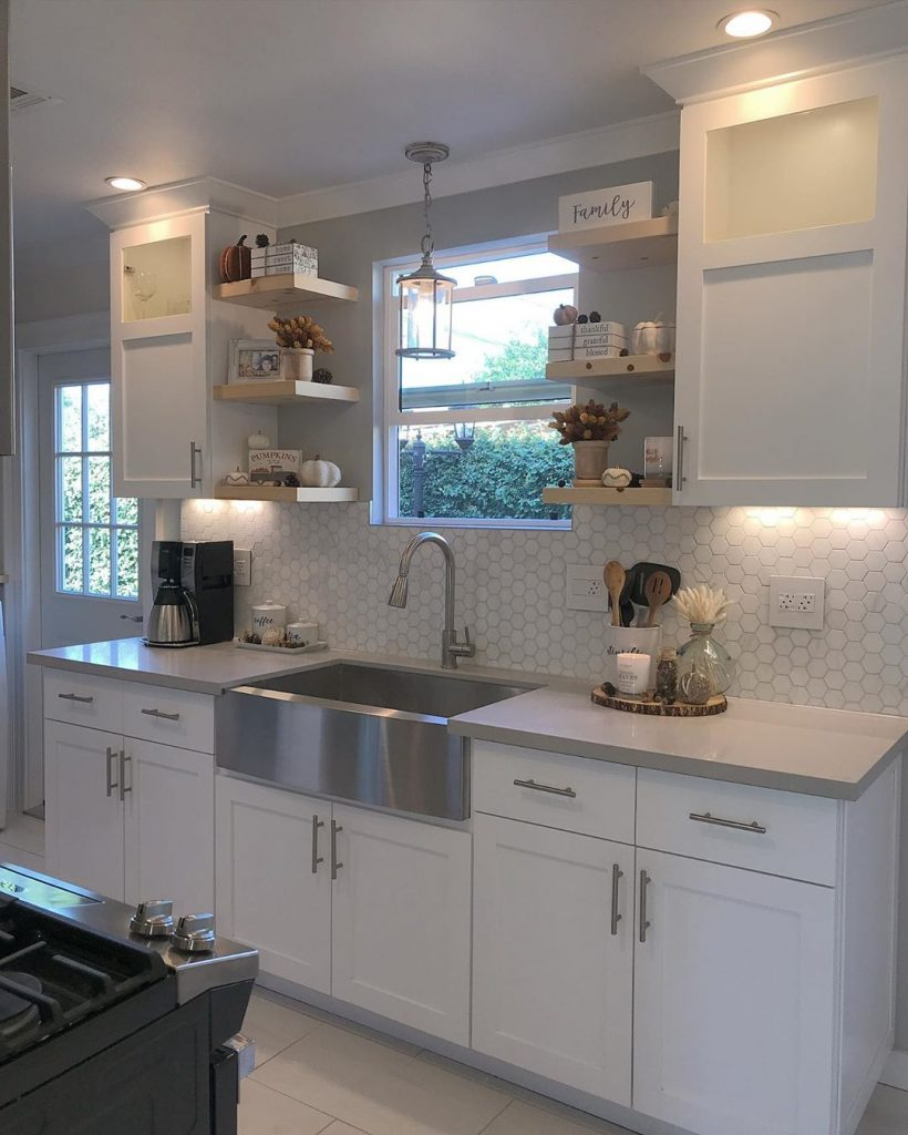 60 Timeless And Classics Country Farmhouse Kitchen Design Ideas 47