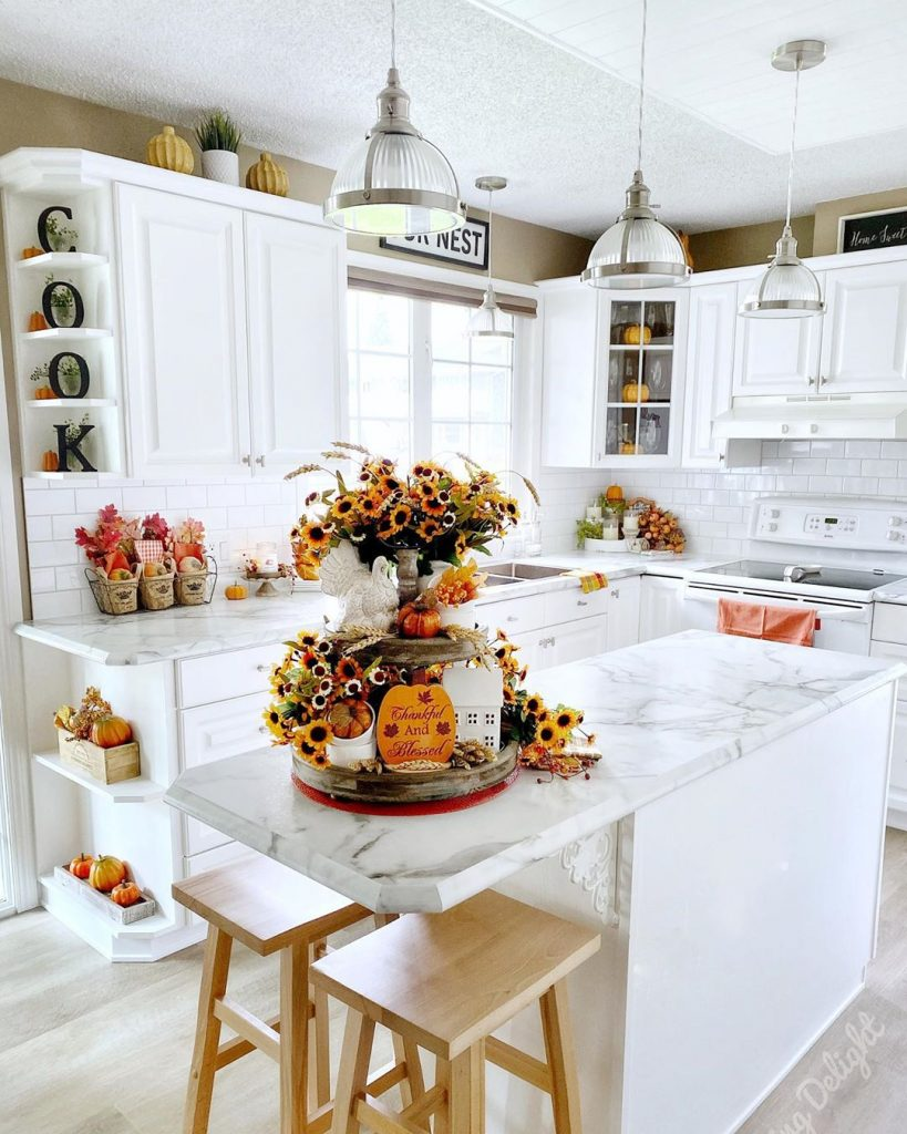 60 Timeless And Classics Country Farmhouse Kitchen Design Ideas 50