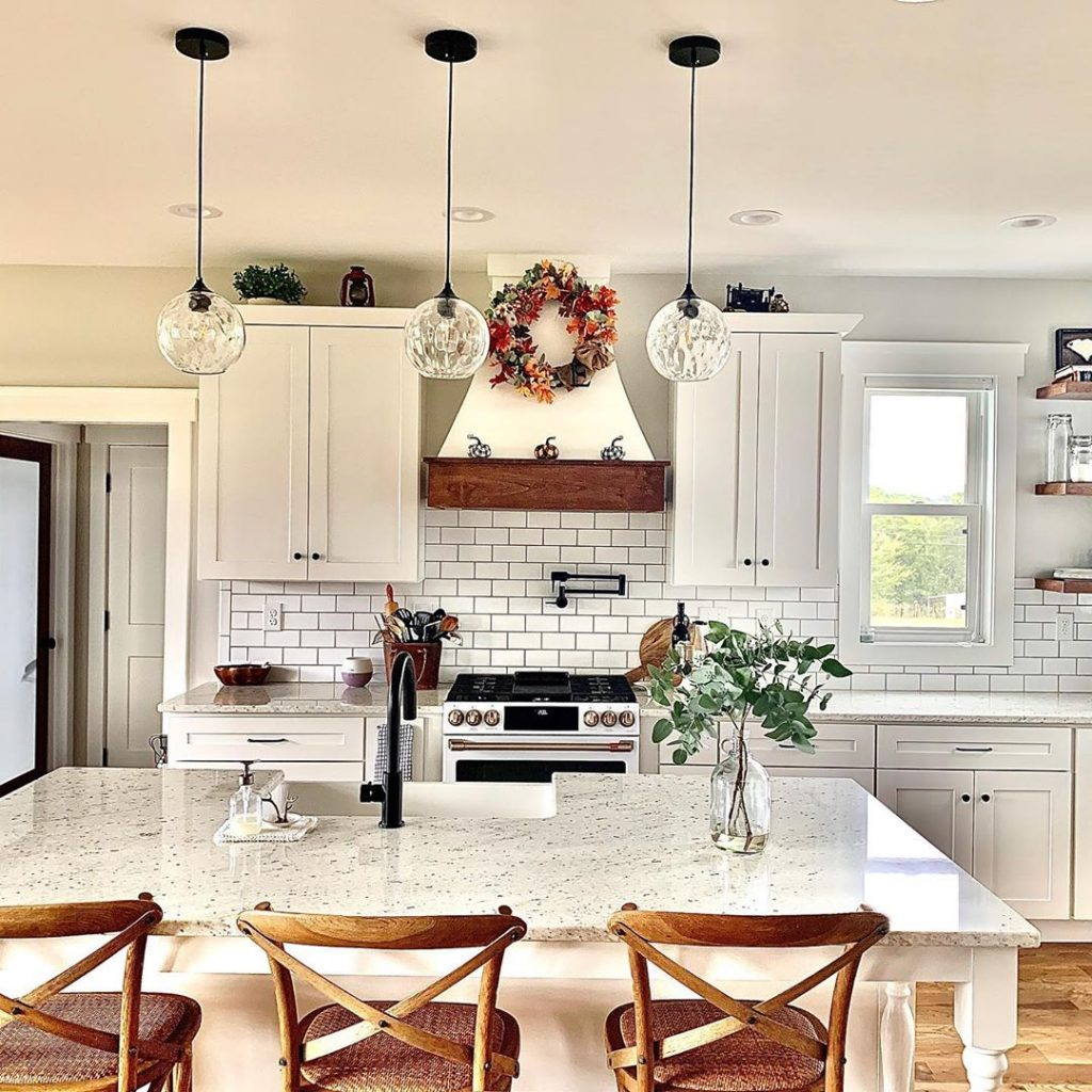 60 Timeless And Classics Country Farmhouse Kitchen Design Ideas 52