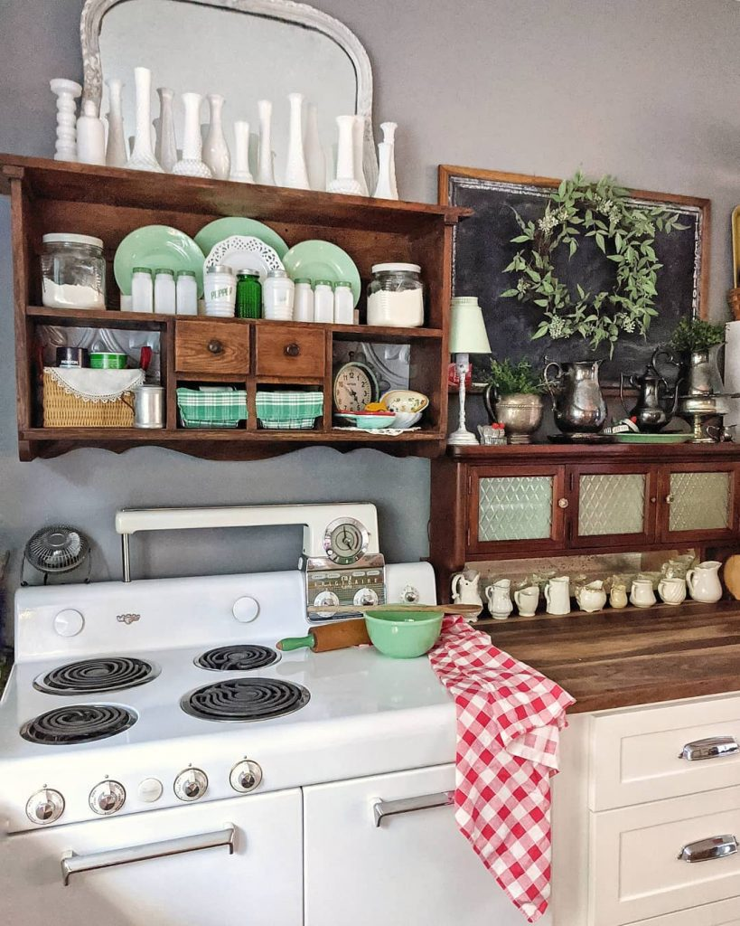 60 Timeless And Classics Country Farmhouse Kitchen Design Ideas 55