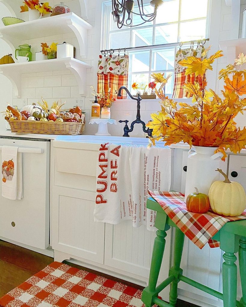 60 Timeless And Classics Country Farmhouse Kitchen Design Ideas 61