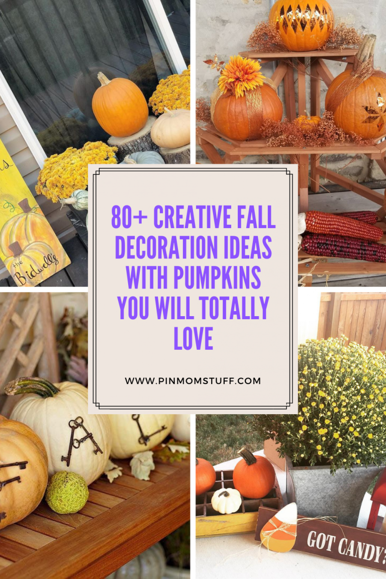 80+ Creative Fall Decoration Ideas With Pumpkins You Will Totally Love
