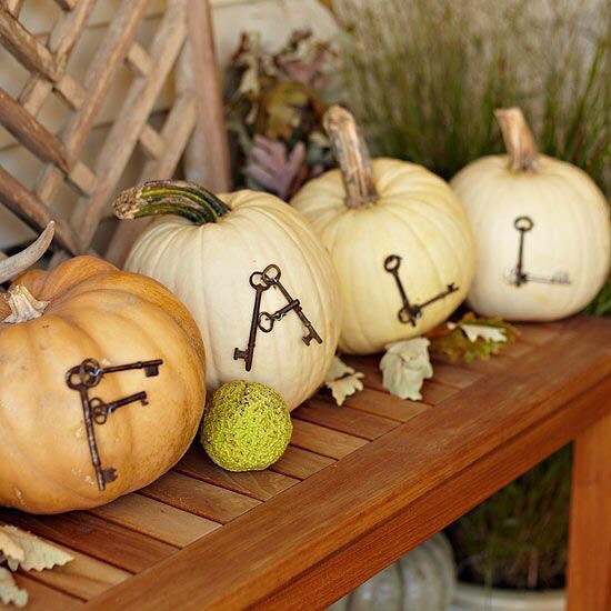 80+ Creative Fall Decoration Ideas With Pumpkins You Will Totally Love (14)