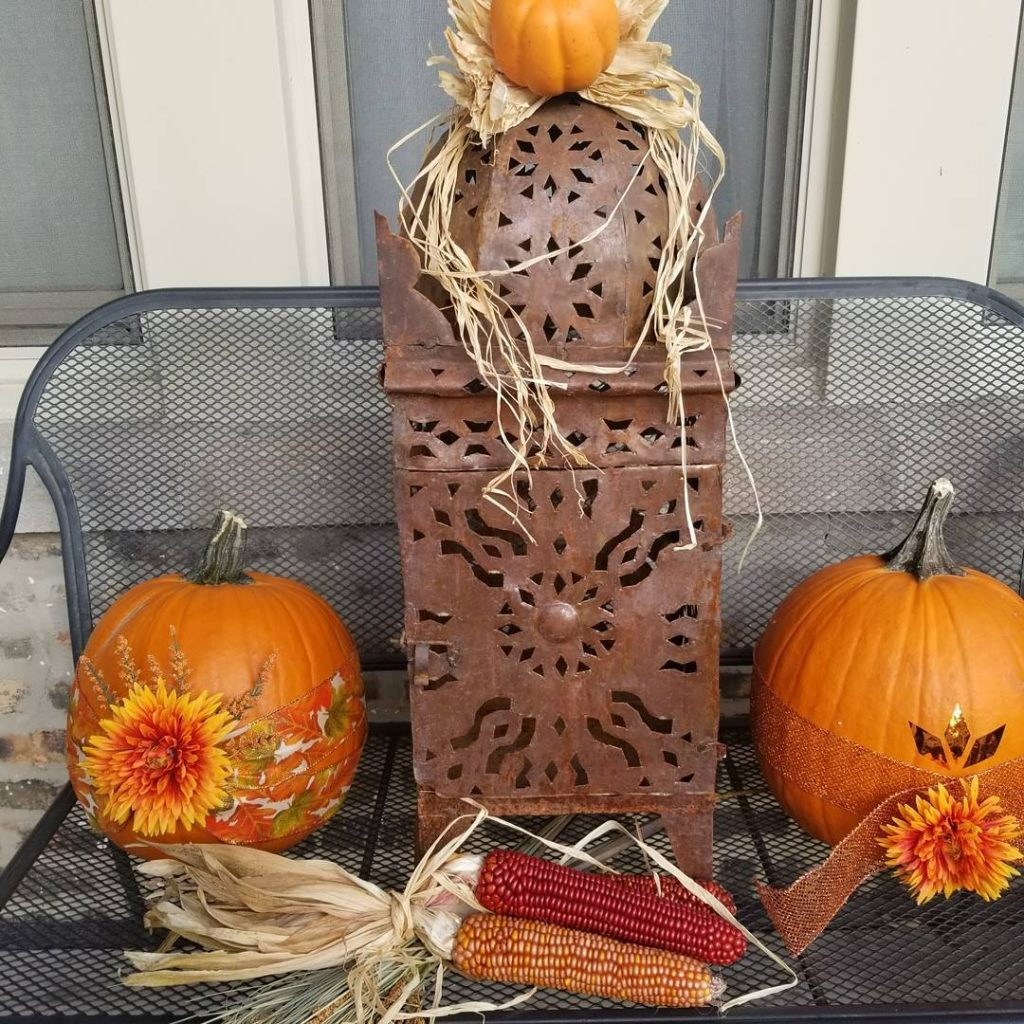 80+ Creative Fall Decoration Ideas With Pumpkins You Will Totally Love (15)