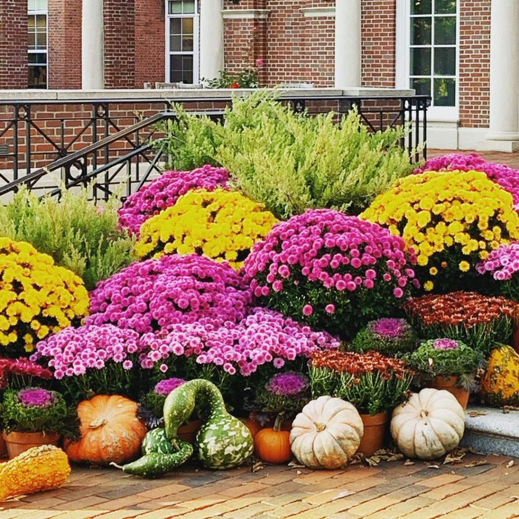 80+ Creative Fall Decoration Ideas With Pumpkins You Will Totally Love (33)