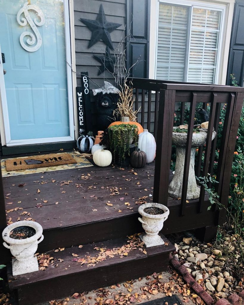80+ Creative Fall Decoration Ideas With Pumpkins You Will Totally Love (40)