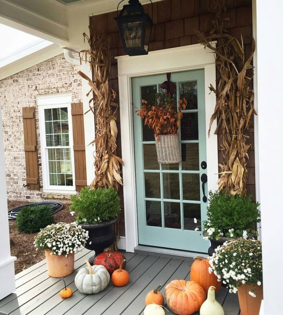 80+ Creative Fall Decoration Ideas With Pumpkins You Will Totally Love (9)
