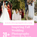 20+ Inspiring Fall Wedding Photography Ideas for Your Memorable Moments