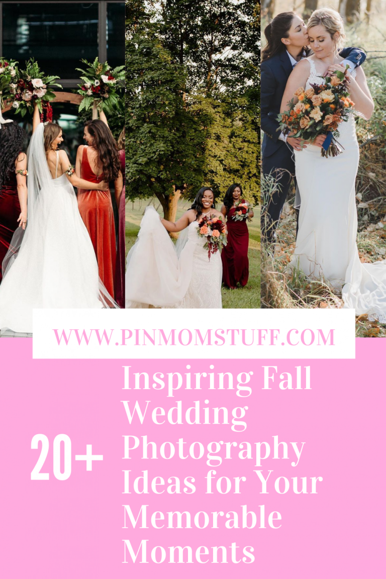 Inspiring Fall Wedding Photography Ideas For Your Memorable Moments