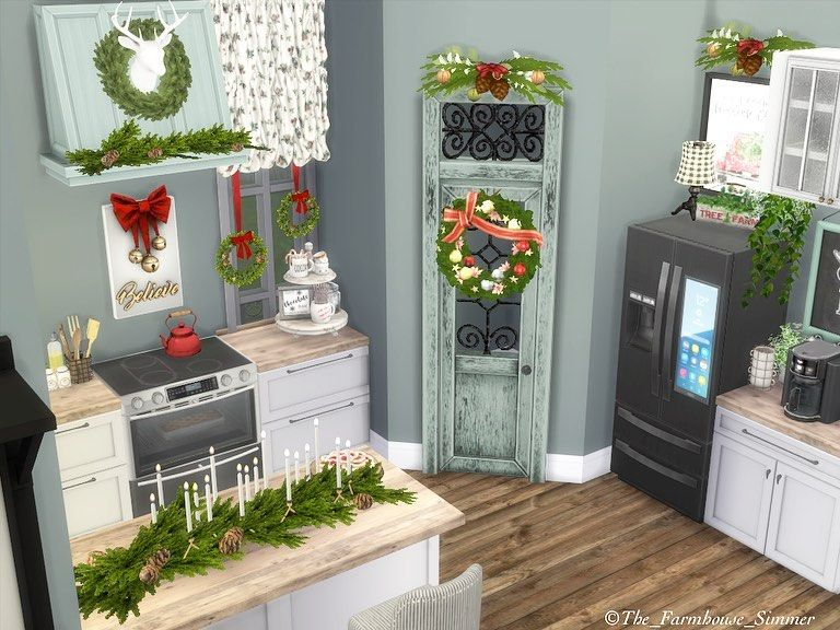 100 Cozy Farmhouse Christmas Decor Ideas To Makes Your Home Feel Warm 09