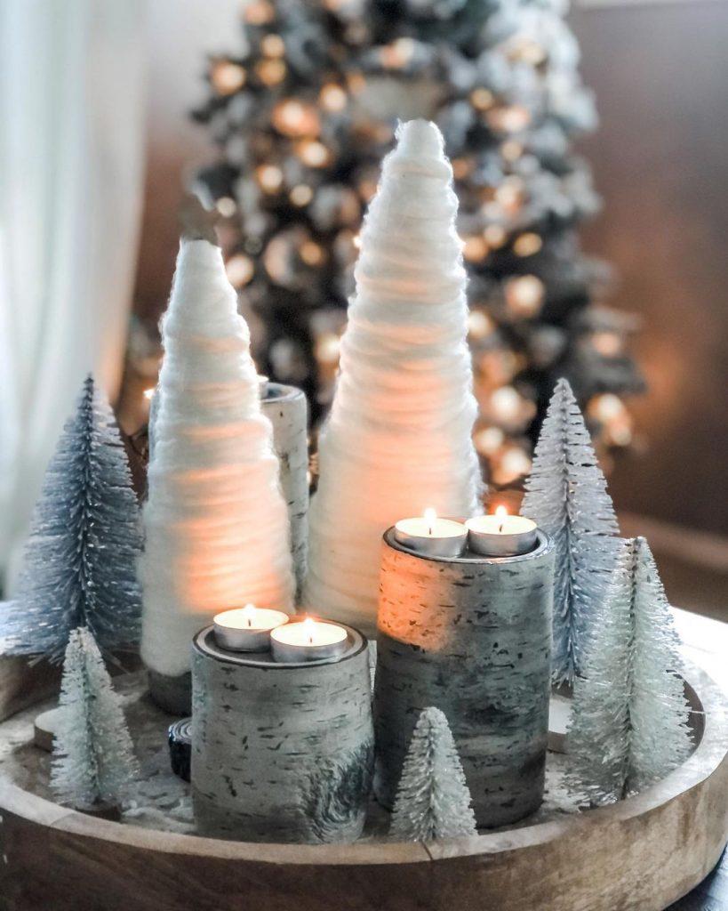 100 Cozy Farmhouse Christmas Decor Ideas To Makes Your Home Feel Warm 27