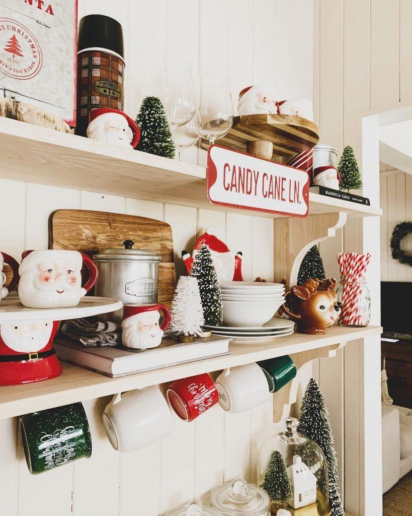 100 Cozy Farmhouse Christmas Decor Ideas To Makes Your Home Feel Warm 30