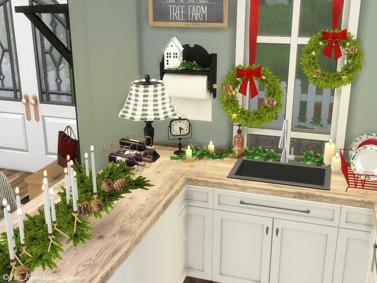 100 Cozy Farmhouse Christmas Decor Ideas To Makes Your Home Feel Warm 35