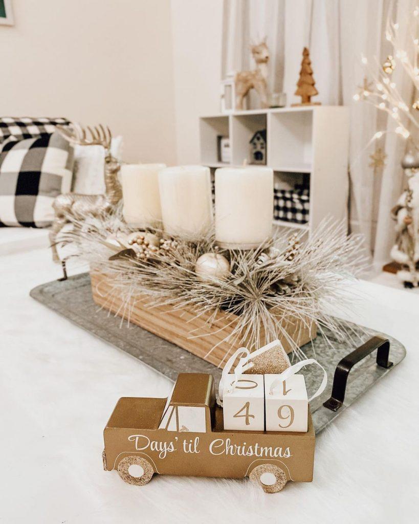 100 Cozy Farmhouse Christmas Decor Ideas To Makes Your Home Feel Warm 40