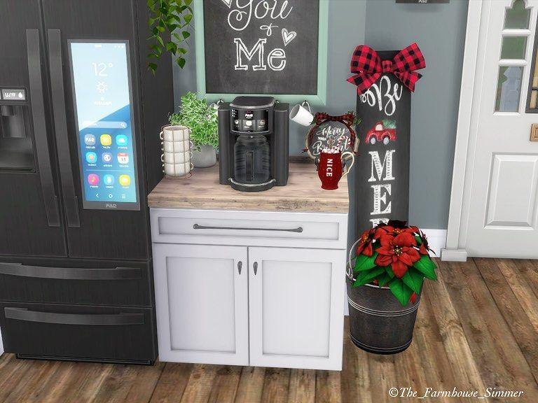 100 Cozy Farmhouse Christmas Decor Ideas To Makes Your Home Feel Warm 44
