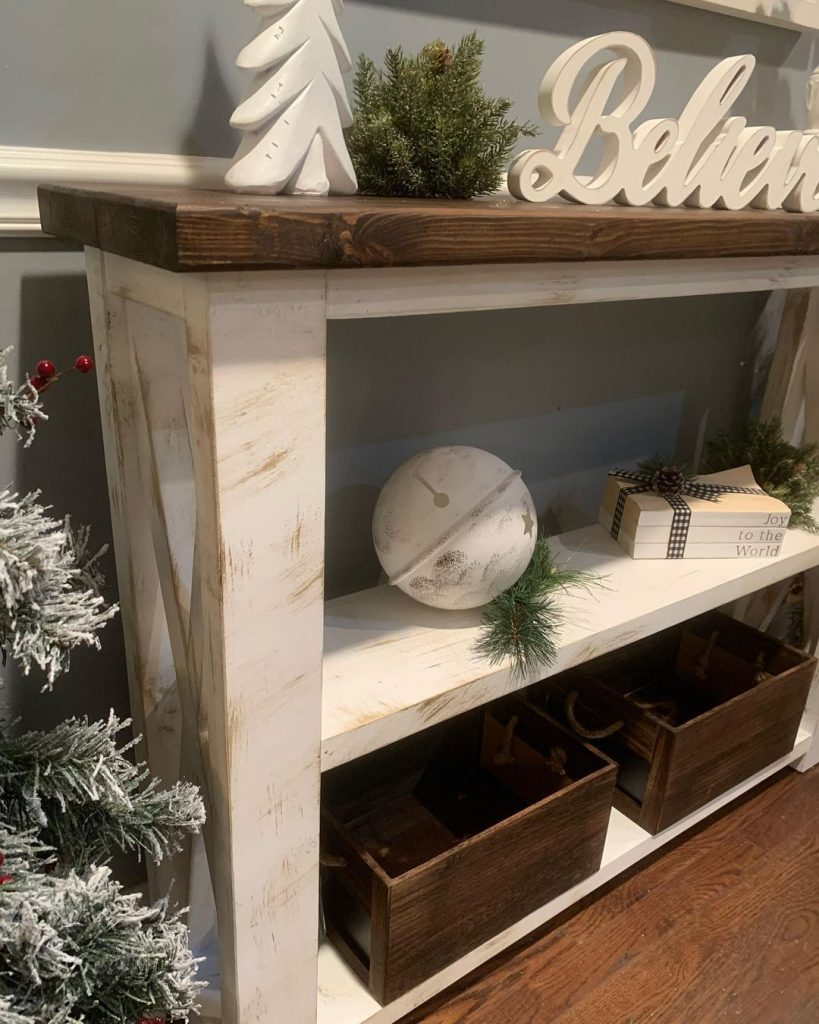 100 Cozy Farmhouse Christmas Decor Ideas To Makes Your Home Feel Warm 58