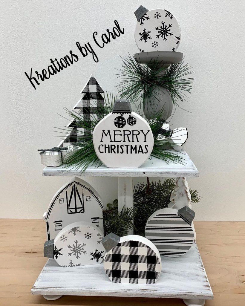 100 Cozy Farmhouse Christmas Decor Ideas To Makes Your Home Feel Warm 63