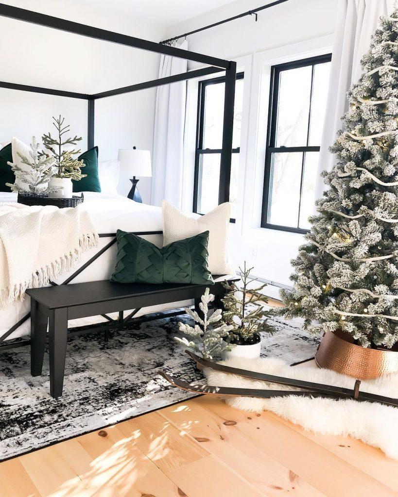100 Cozy Farmhouse Christmas Decor Ideas To Makes Your Home Feel Warm 72