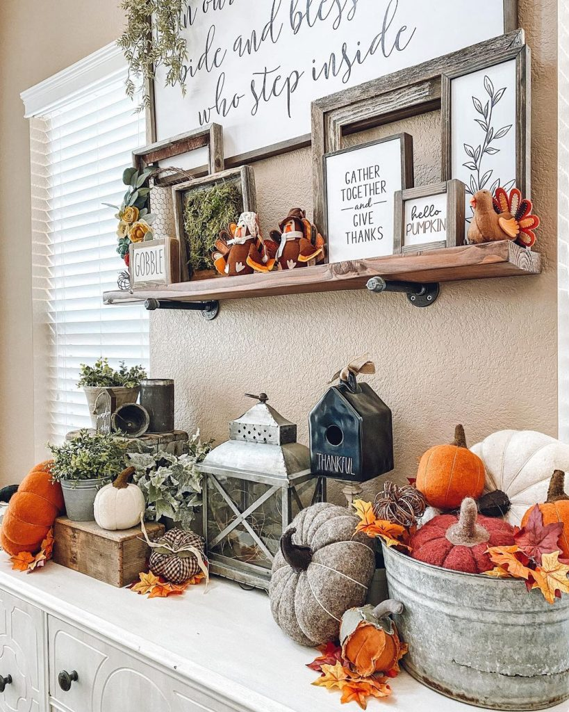 100 Thanksgiving Decoration Ideas Stylize Your Home With Fall Accents 8