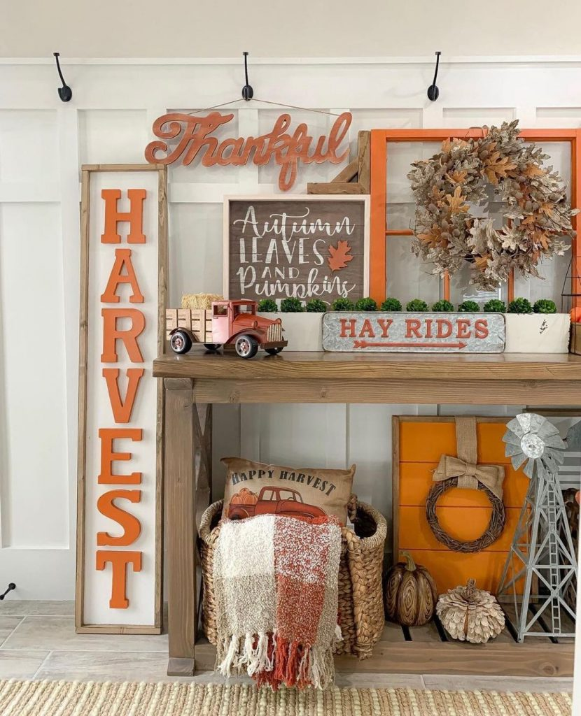 100 Thanksgiving Decoration Ideas Stylize Your Home With Fall Accents 81