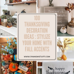 100 Thanksgiving Decoration Ideas : Stylize Your Home With Fall Accents