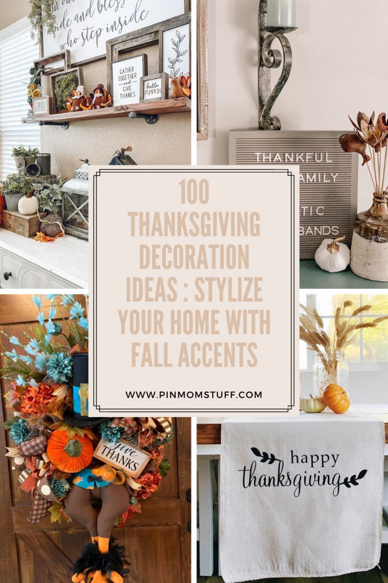 100 Thanksgiving Decoration Ideas Stylize Your Home With Fall Accents