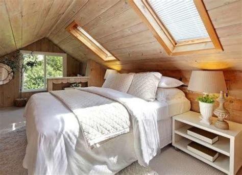 Amazing Attic Bedroom Ideas On A Budget 24