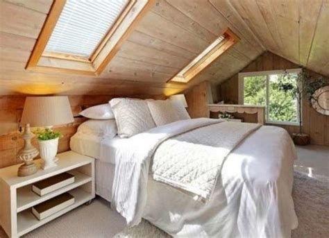 Amazing Attic Bedroom Ideas On A Budget 35