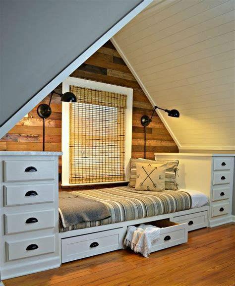 Amazing Attic Bedroom Ideas On A Budget 44