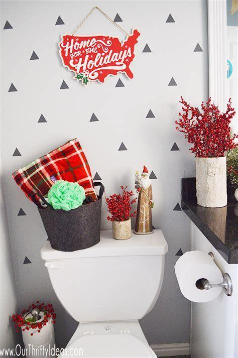 Amazing Christmas Bathroom Decorations That Will Amaze You 03