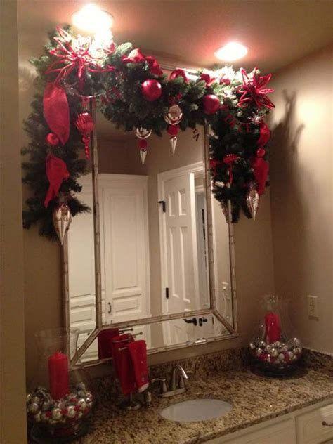 Amazing Christmas Bathroom Decorations That Will Amaze You 37