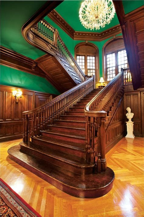 Amazing Victorian Staircases Design Ideas For Beauty And Safety 02