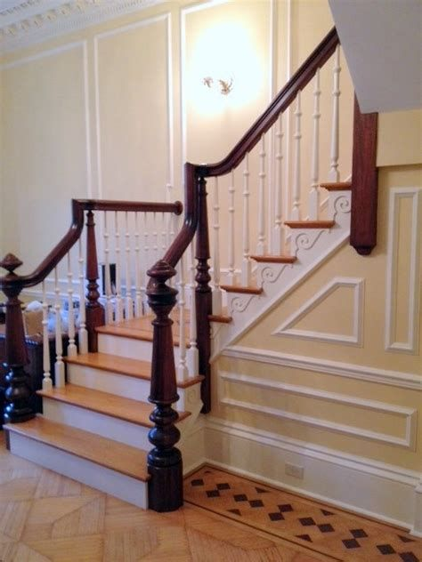 Amazing Victorian Staircases Design Ideas For Beauty And Safety 06