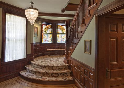 Amazing Victorian Staircases Design Ideas For Beauty And Safety 09