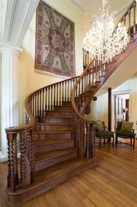 Amazing Victorian Staircases Design Ideas For Beauty And Safety 13