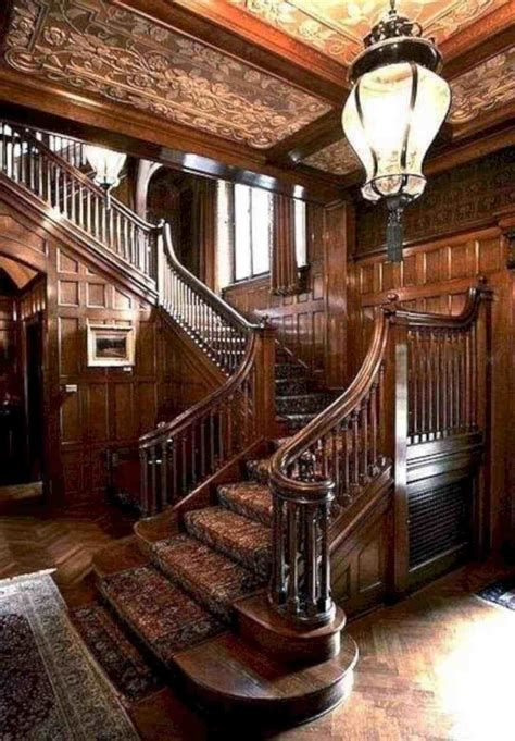Amazing Victorian Staircases Design Ideas For Beauty And Safety 35