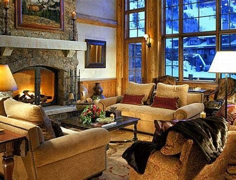 Attractive Winter Living Room Decoration Ideas For Warmth In The House 04