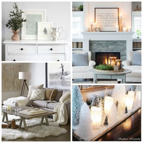 Attractive Winter Living Room Decoration Ideas For Warmth In The House 11
