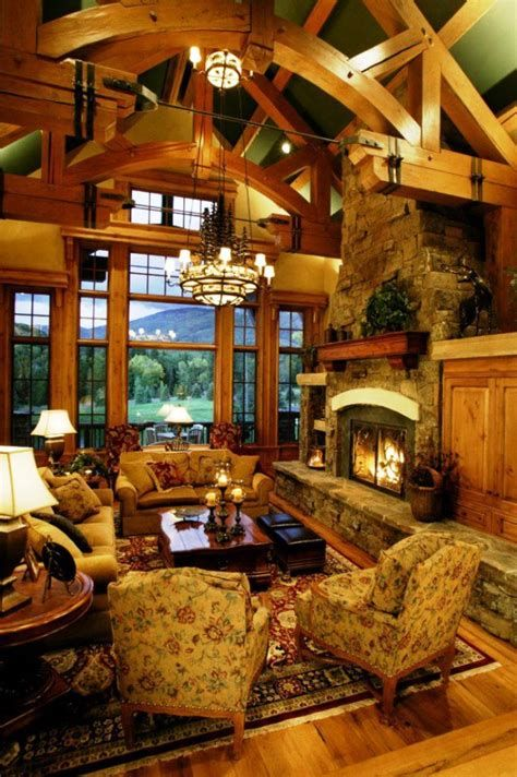 Attractive Winter Living Room Decoration Ideas For Warmth In The House 21